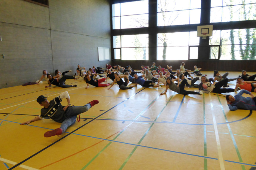 MDS with Dance, Graffiti and Rap in Ingenbohl